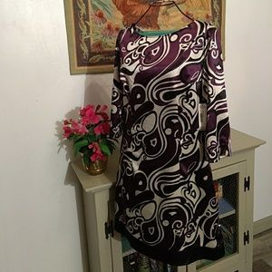 Size small abstract print dress